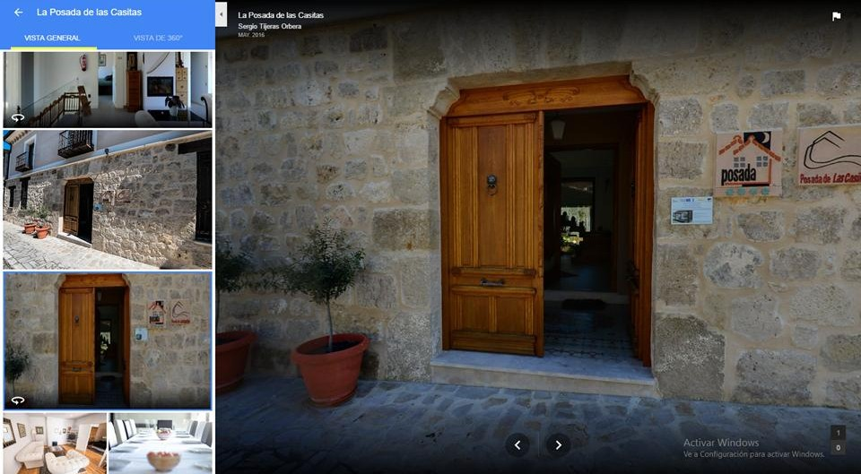 NOW YOU CAN MAKE THE 360º VIRTUAL TOUR TO OUR POSADA